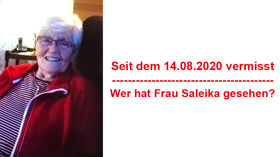Vermisste Person Obermaubach